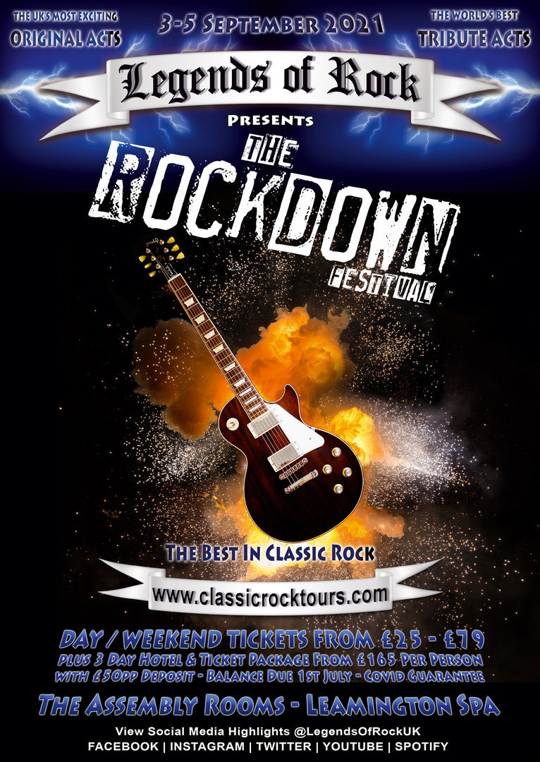 The Rockdown Festival - The Assembly Rooms, Leamington Spa