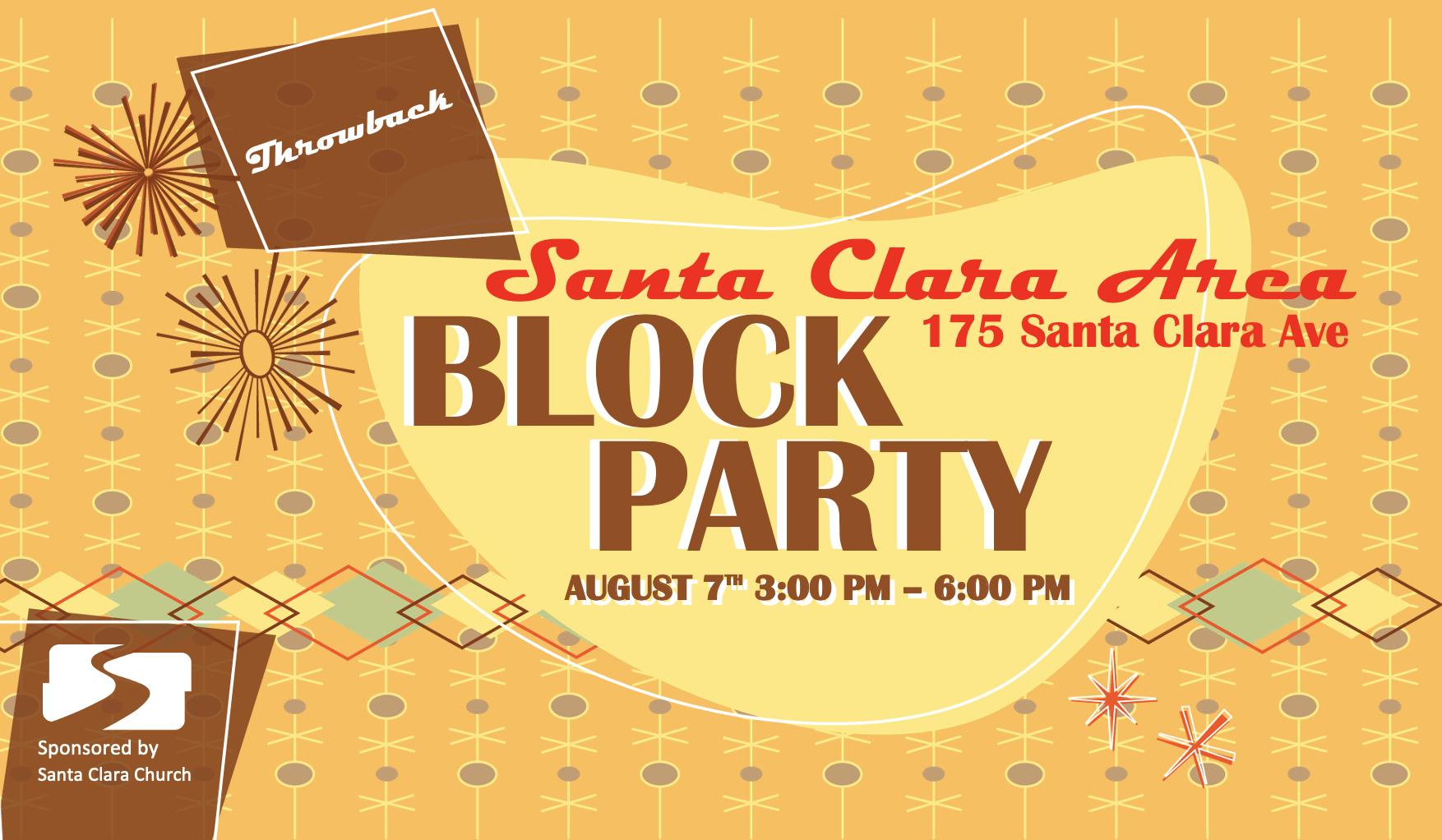 Santa Clara Area Block Party 2021