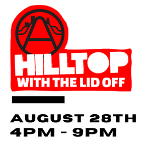 Hilltop with The Lid Off