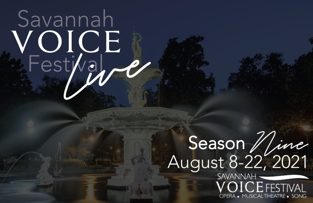 MASTER CLASS ll - Savannah Voice Festival Performance