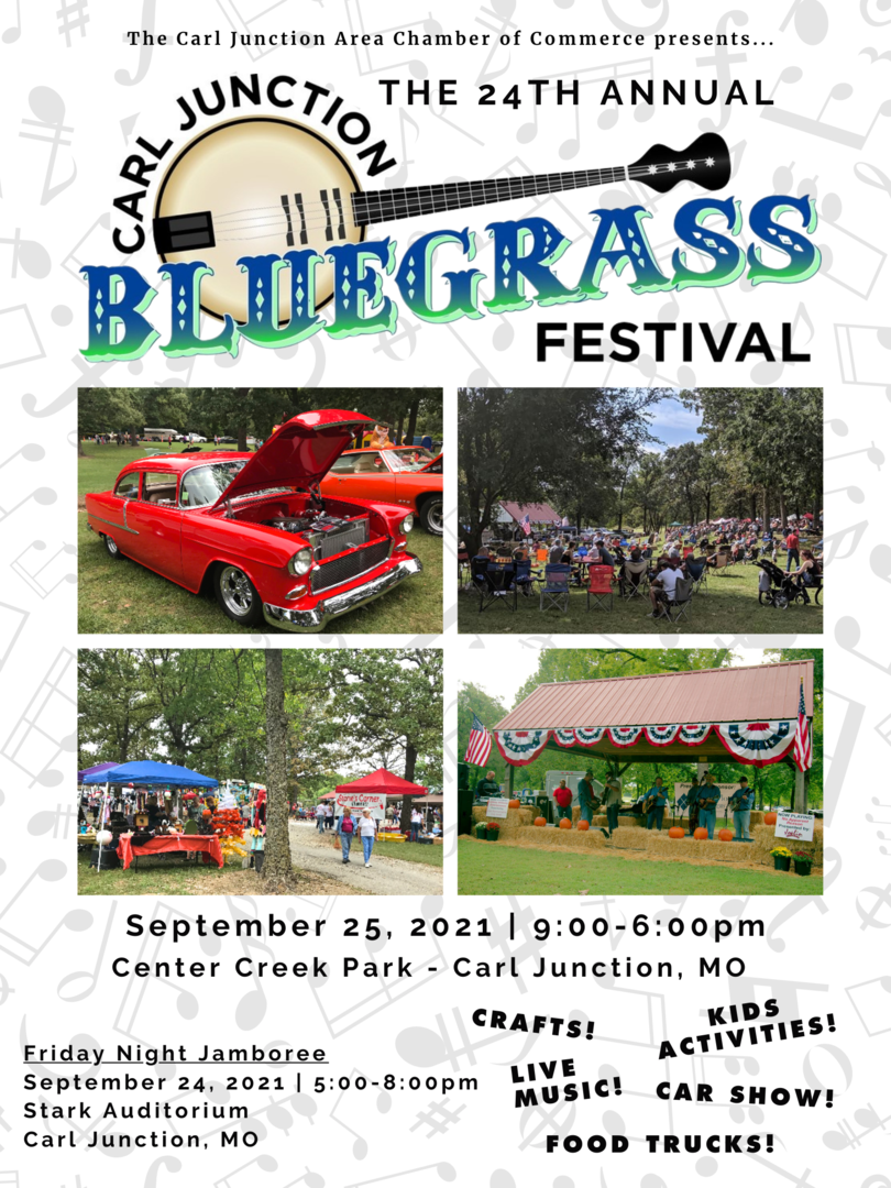 The 24th Annual Carl Junction Bluegrass Festival