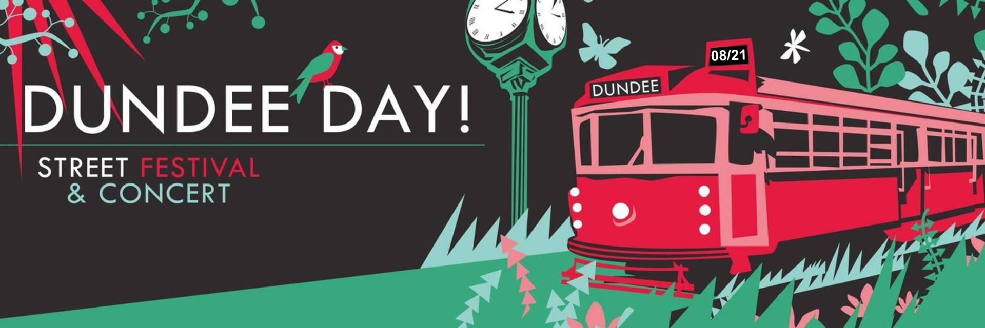 Dundee Day 28th Annual Summer Street Festival to be held August 21, 2021
