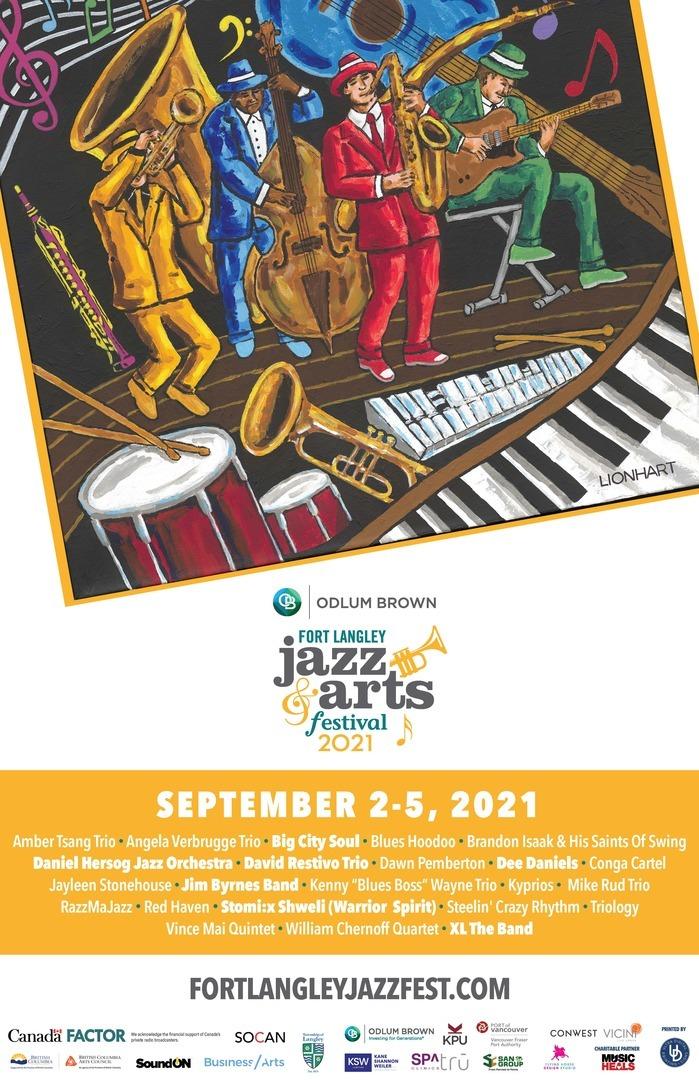 ODLUM BROWN Fort Langley Jazz & Arts Festival 2021
