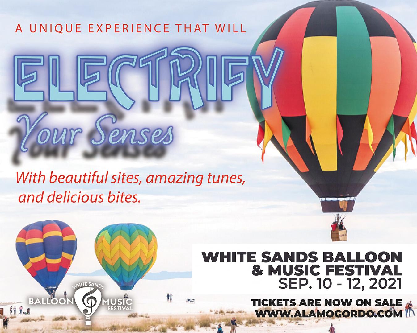 White Sands Balloon & Music Festival