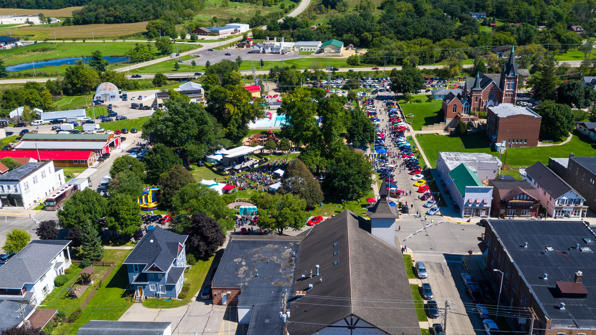 14th Annual New Glarus Family Fest & Car Show