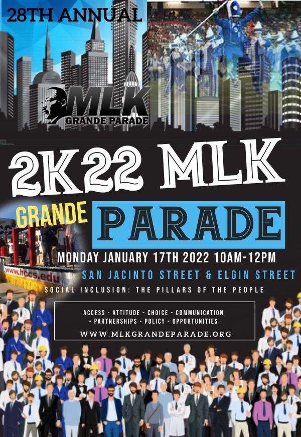 MLK Grande Parade In Midtown Houston-2022