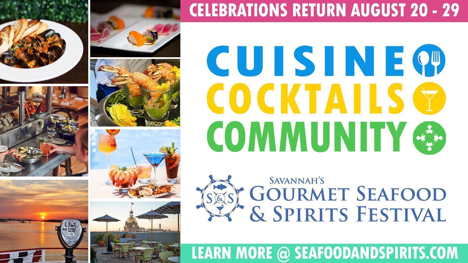 Savannah's Gourmet Seafood & Spirits Fesival
