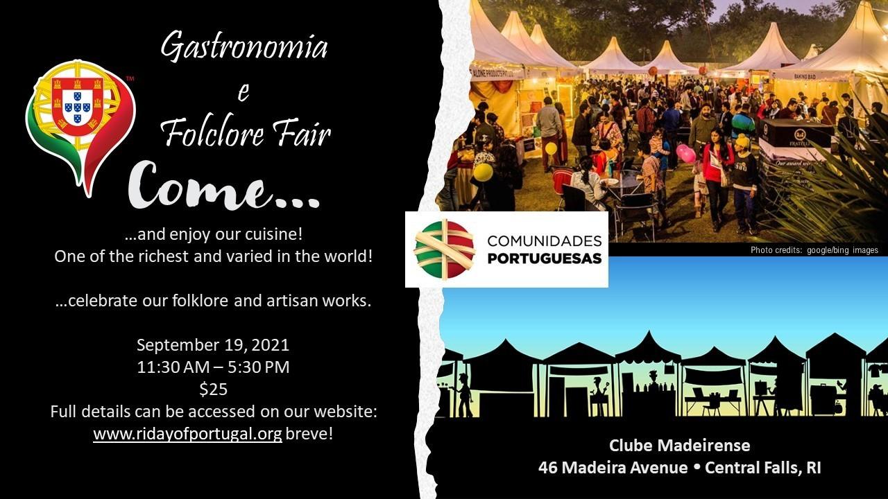 RI Day of Portugal Gastronomy & Folklore Fair