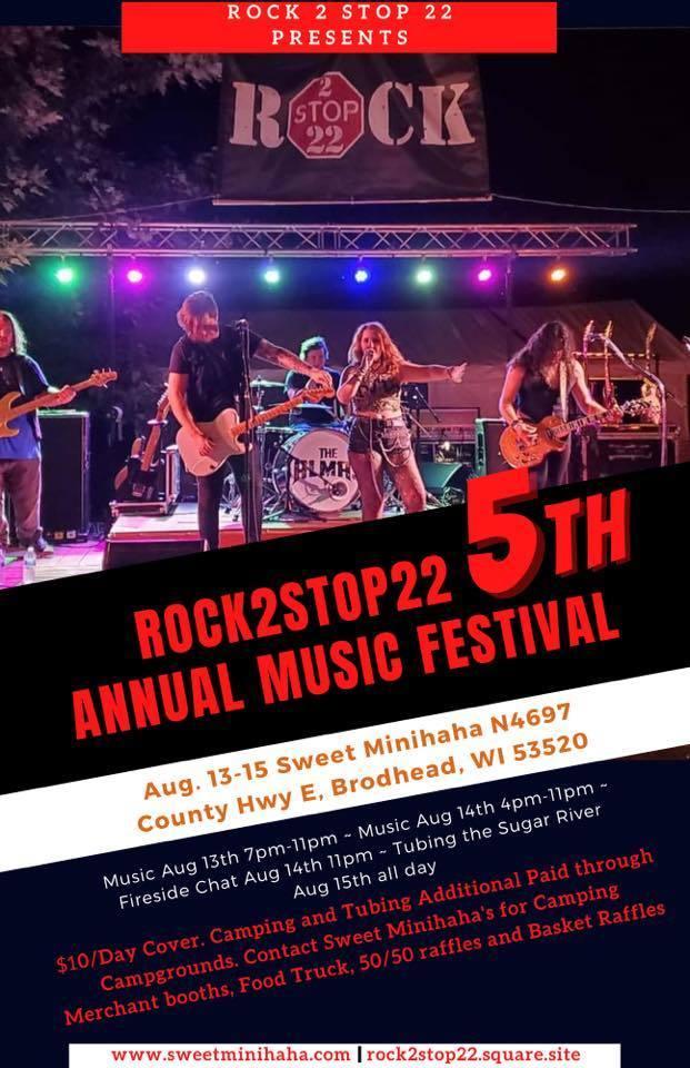 Rock2Stop22 annual music festival