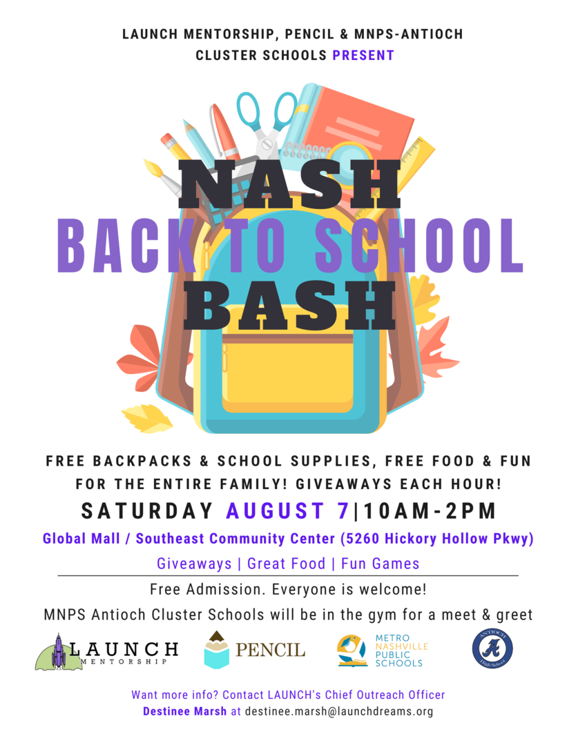 Nash Back-to-School Bash