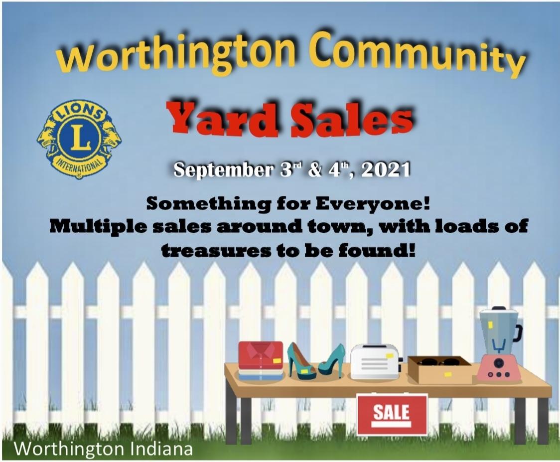 Worthington Community Yard Sales