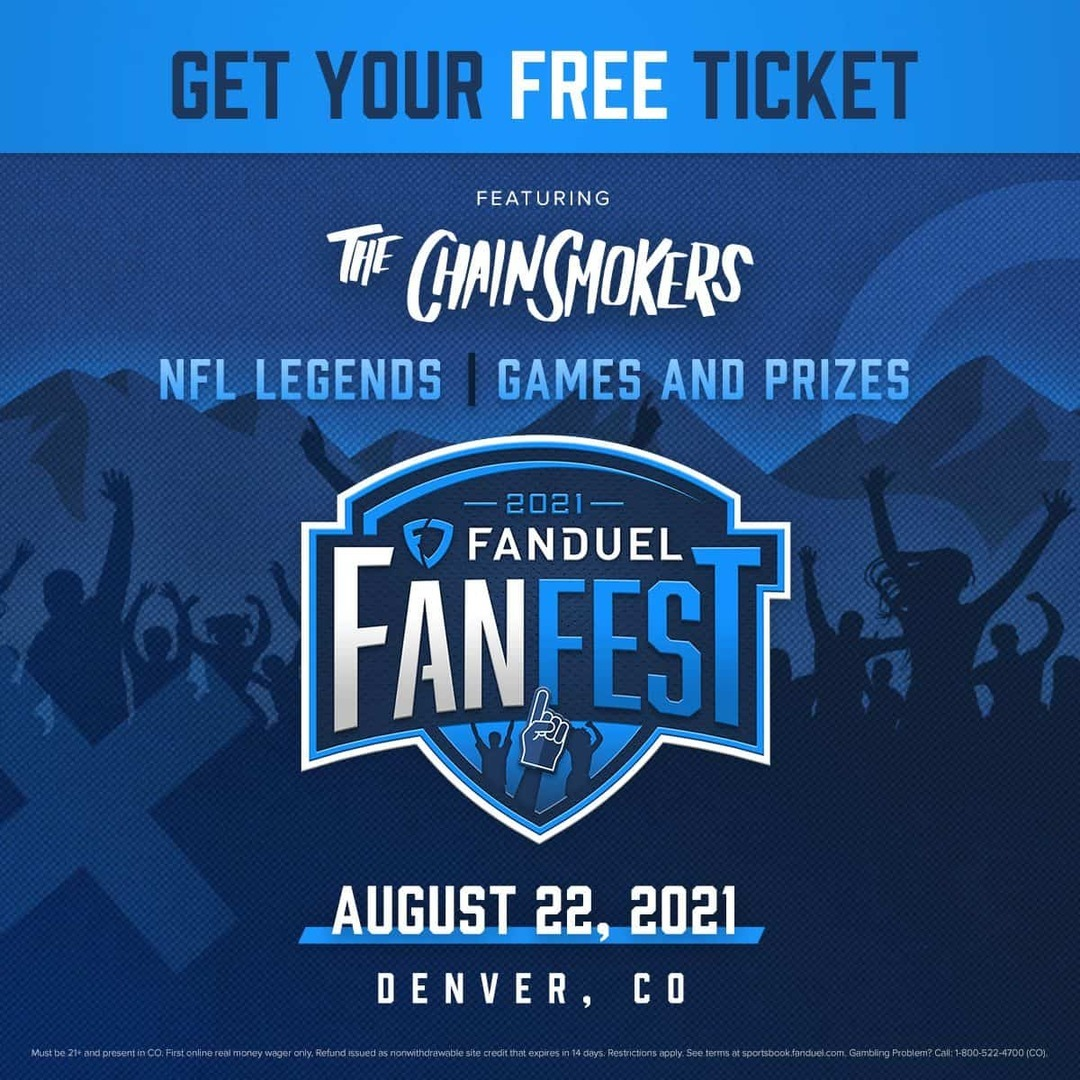 FanDuel FanFest Live Performance by The Chainsmokers