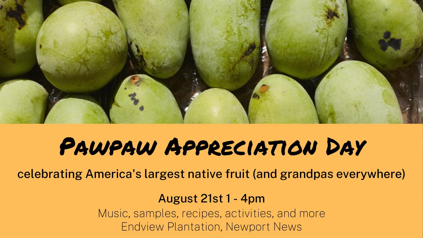 Pawpaw Appreciation Day