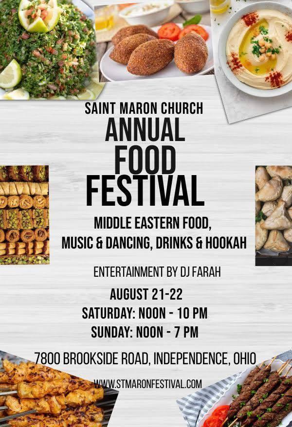 Saint Maron Lebanese Food Festival