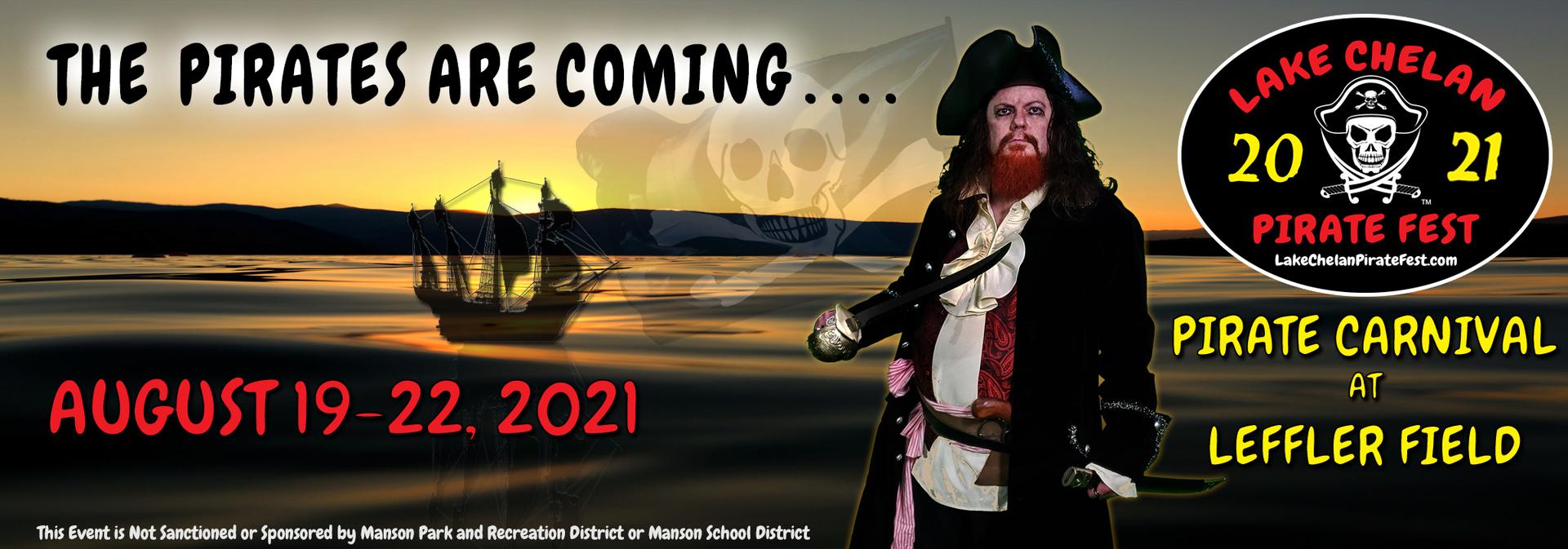 Lake Chelan Pirate Fest ~ Pirate Carnival