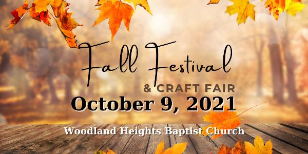 Fall Festival and Craft Fair