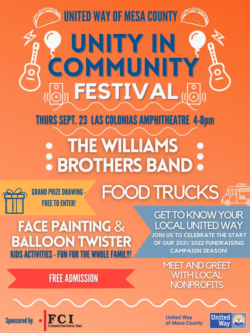 Unity in Community Festival