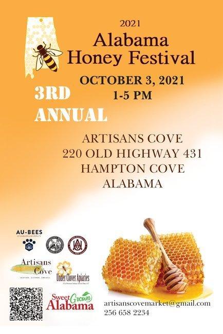 2021 3rd Annual Alabama Honey Festival