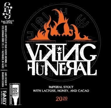 Viking Funeral Release at Four Fathers Brewing (Valparaiso)