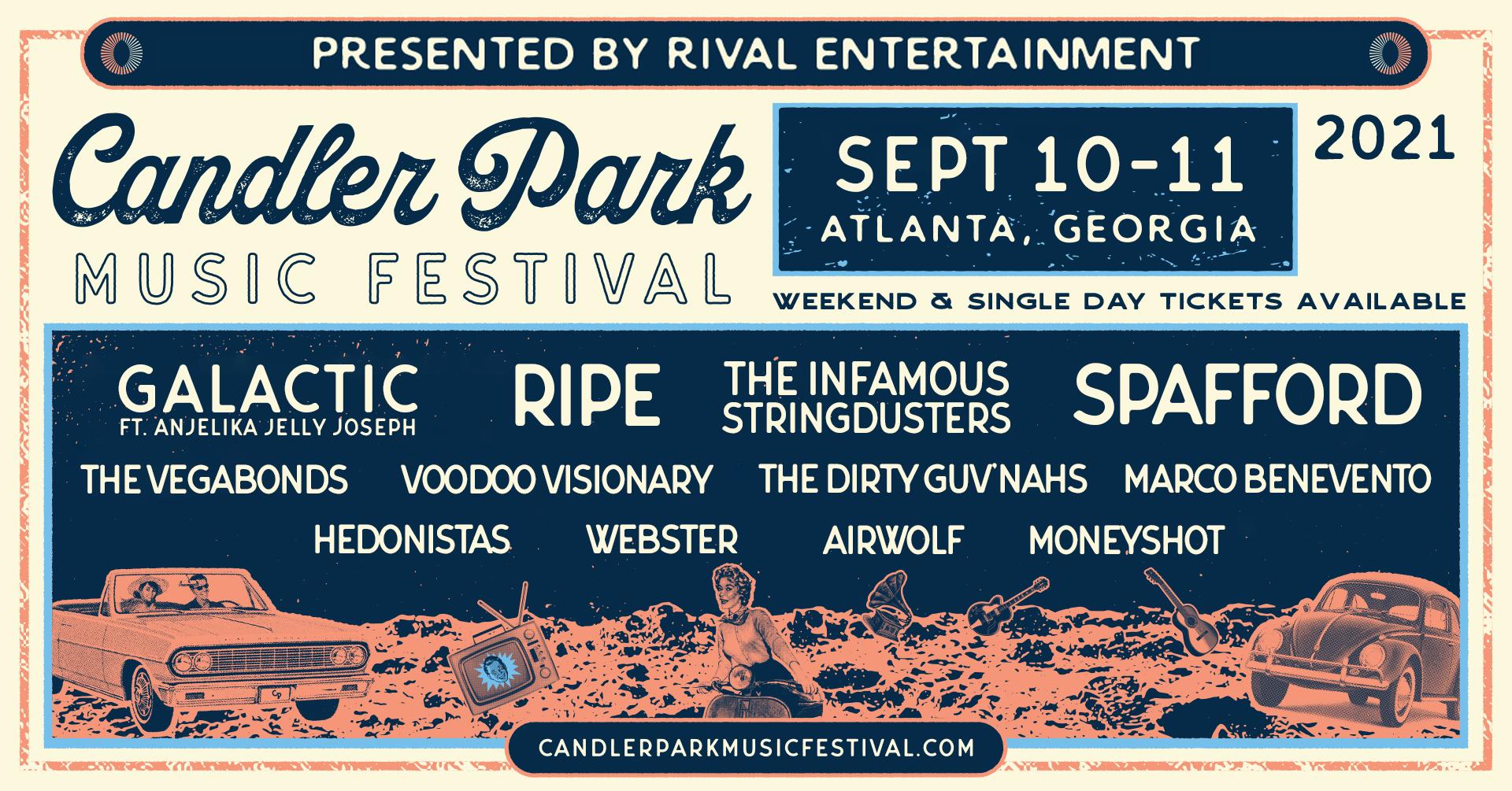 Candler Park Music Festival Makes Its Return September 10th & 11th