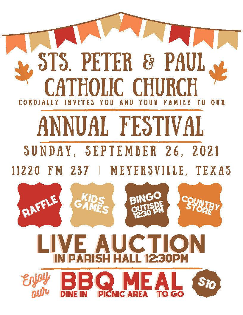 Sts. Peter & Paul Catholic Church Festival