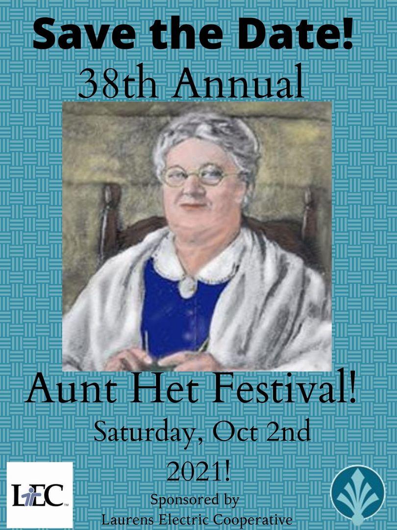 38th Annual Aunt Het Fall Festival