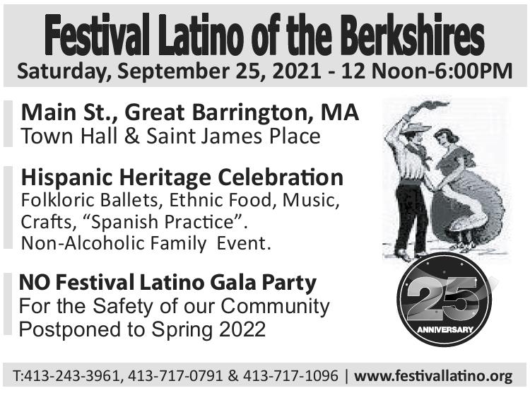 Festival Latino of the Berkshires 25th Anniversary