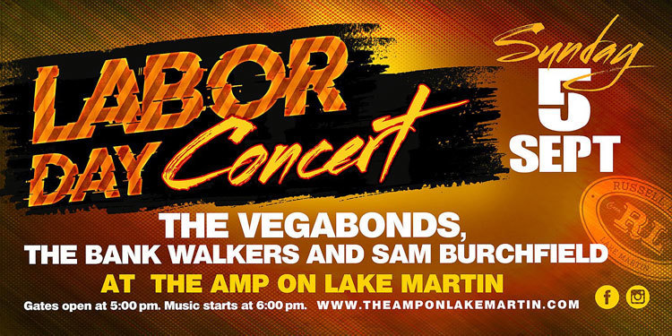 Labor Day Concert at The Amp