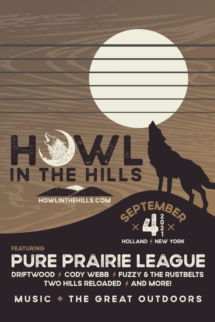 Howl in the Hills Music Festival at Holland Speedway on September 4, 2021