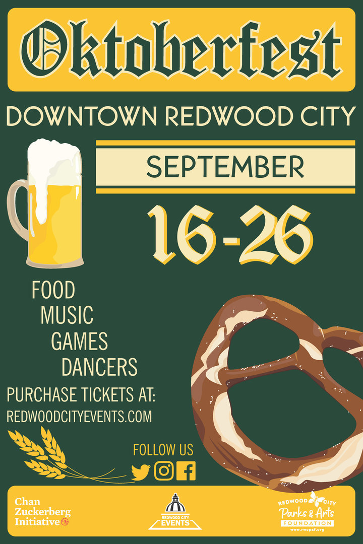 Oktoberfest Downtown Redwood City