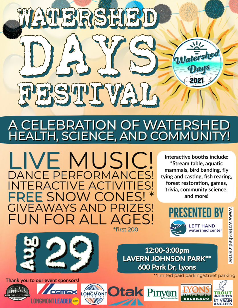 Watershed Days Festival