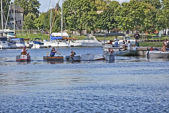 9th Annual Racine Cardboard Boat Race @ Harbor Lite Yacht Club
