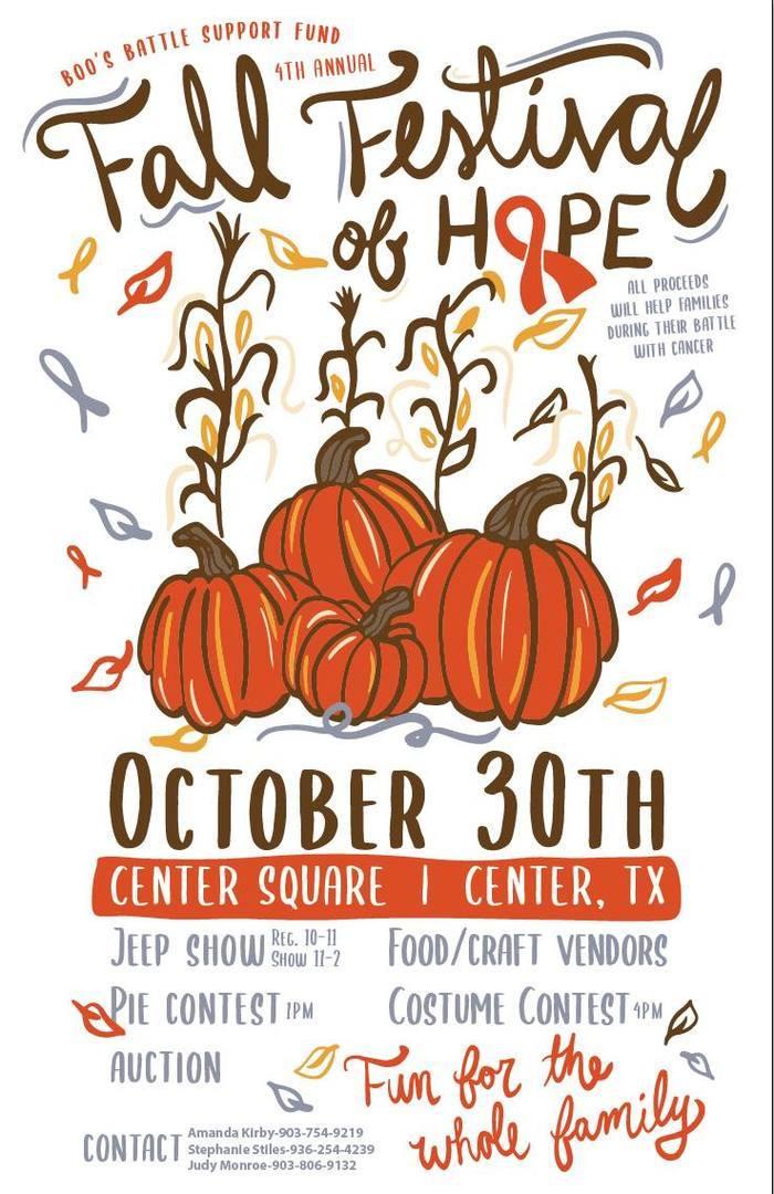 4th Annual Fall Festival of Hope