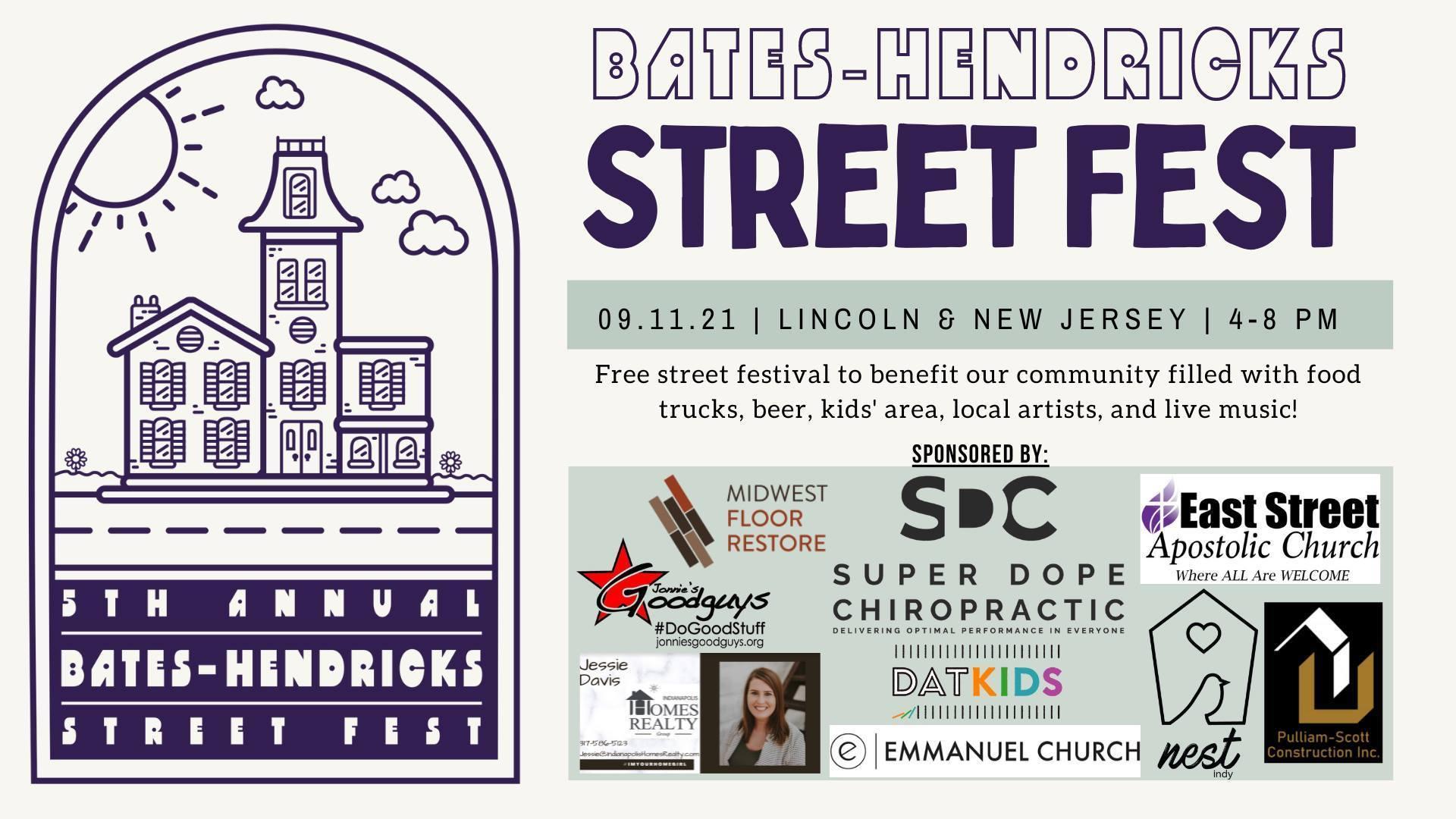 5th Annual Bates-Hendricks Street Fest