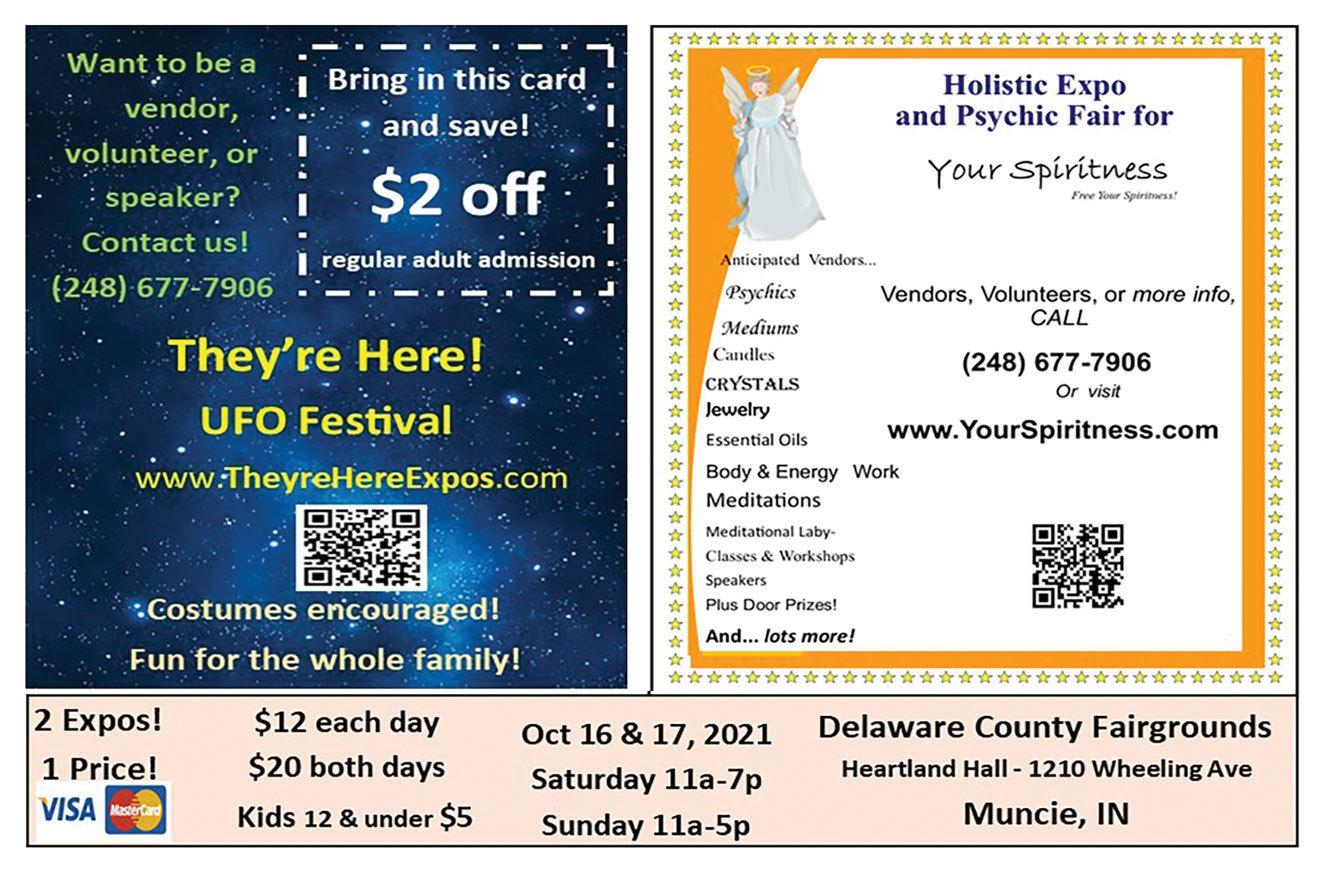 UFO Festival & Psychic Fair Oct 16&17