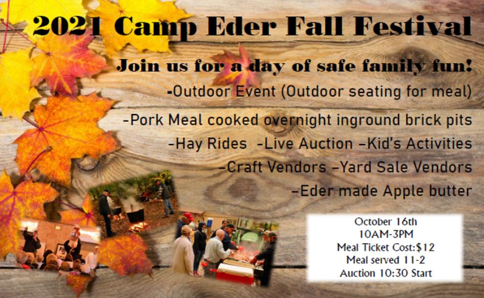 Fall Fest at Camp Eder