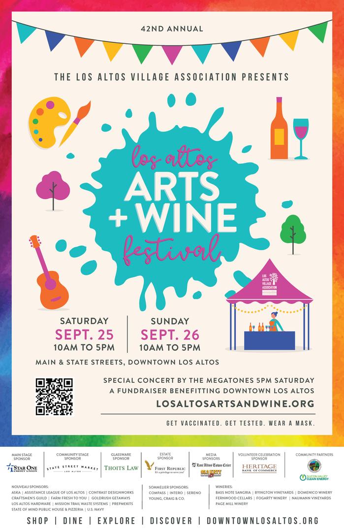 42nd Los Altos Arts & Wine Festival