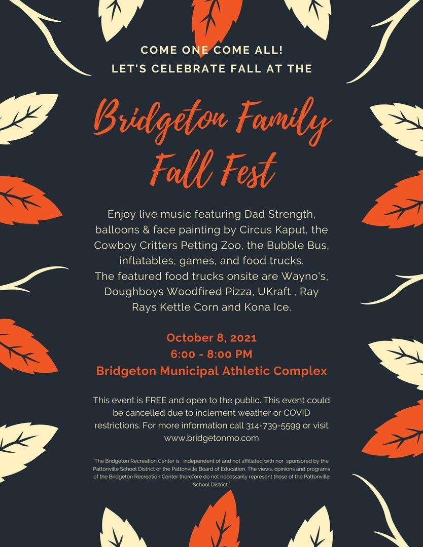 Bridgeton Family Fall Fest