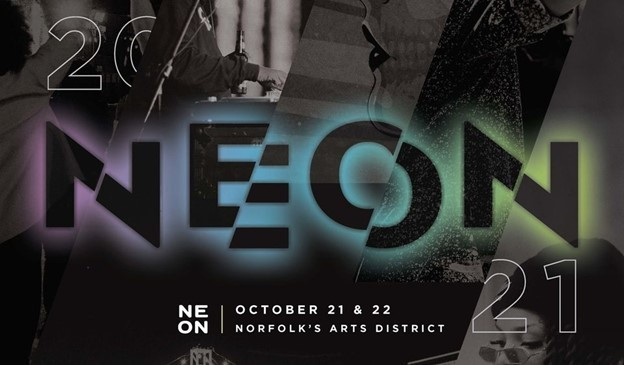 NEON Festival October 21 and 22, from 6pm  to 10pm