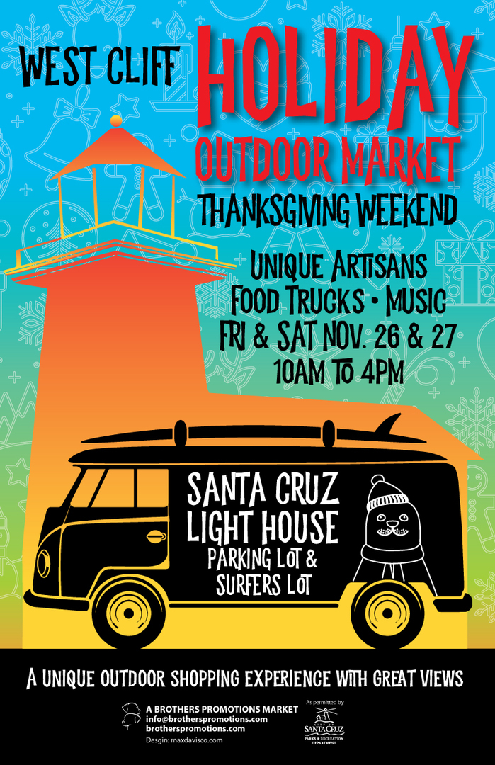 West Cliff Holiday Outdoor Market 2021