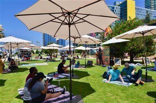 Lane Field Park Market - Street Food & Live Music