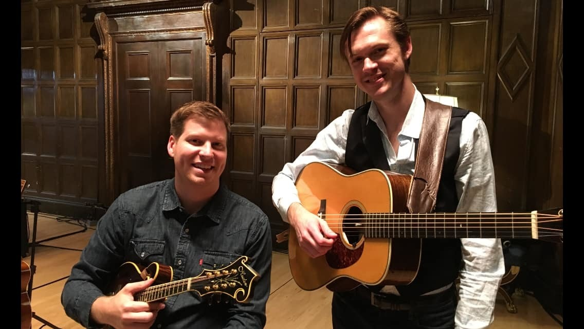 An Evening with Forrest O'Connor and Isaac Eicher – October 9, 2021 – Harrisburg, PA. - An Evening with Forrest O'Connor and Isaac Eicher – October 9, 2021 – Harrisburg, PA.