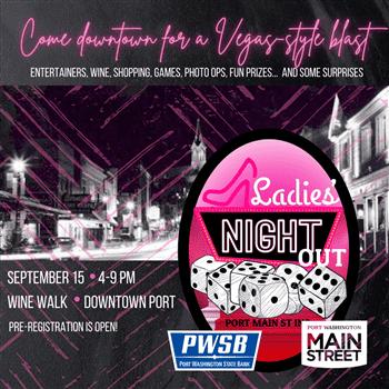 Ladies Night Out & Wine Walk