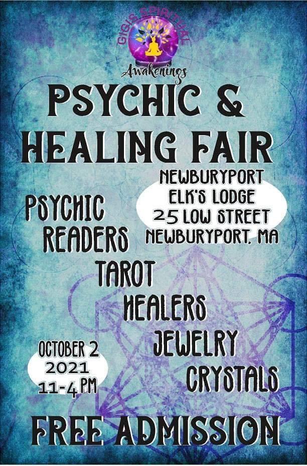 Psychic and Healing Fair Comes to Newburyport