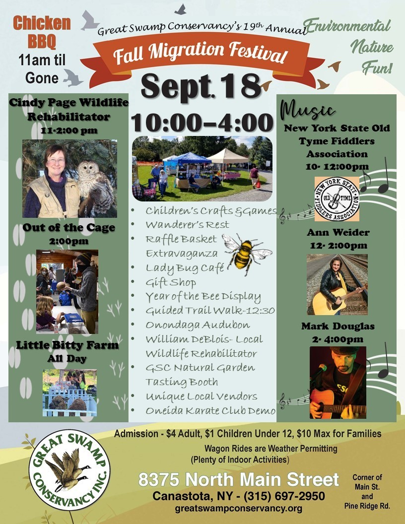 19th Annual Fall Migration Festival