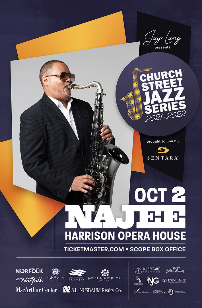 Church Street Jazz Series- Najee Live In Concert
