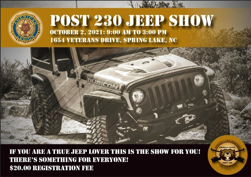 Post 230 Jeep Show
