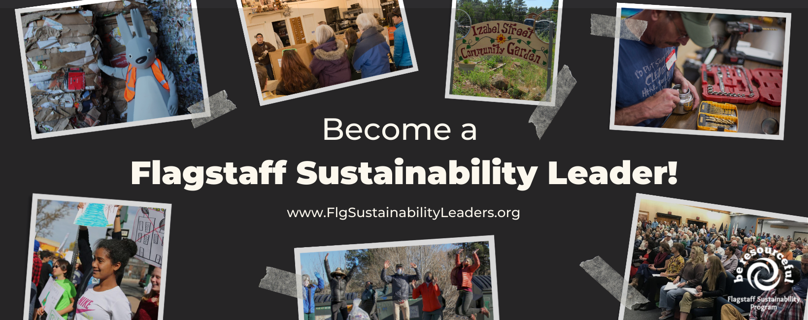 Want to lead sustainable action in the Flagstaff community? Get ready to learn, meet, share, and act during the 8-week Flagstaff Sustainability Leaders course!