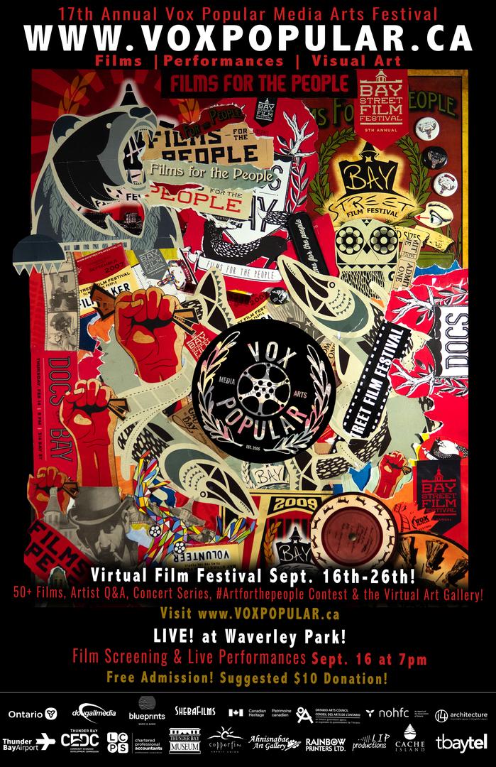 17th Annual Vox Popular Media Arts Festival 2021