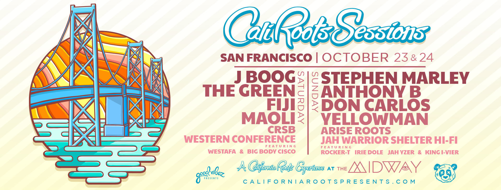 Cali Roots SF Sessions